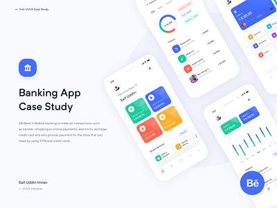 Banking App Case Study minimal app design uiux ux imran design app ui bank app app case study banking app case study banking app case study behance app ui design app  design app concept ios app app