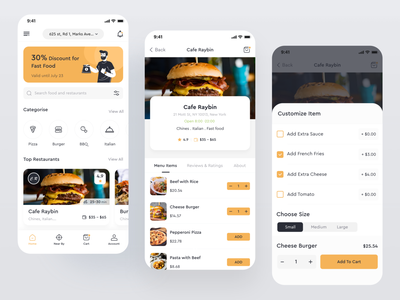 Project: Foodly food illustration case study food app design delivery app food and drink food delivery application food app design imran app ui design app concept ios app app ux