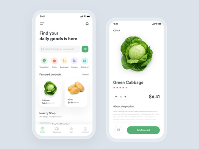 Grocery Delivery App grocery shop uidesign mobile app grocery app delivery app grocery imran app ui design app  design app concept ios app app ux