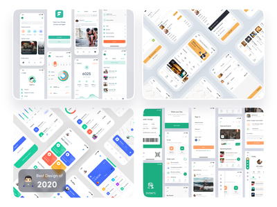 Best of 2020 🔥 best of dribbble 2020 best of 2020 minimal app design imran design app ui design app concept app ios app ux