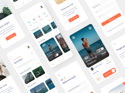 Travel App Concept app ui kit minimal app design minimal app ui ux app ui app ui design design app  design app concept ios app app