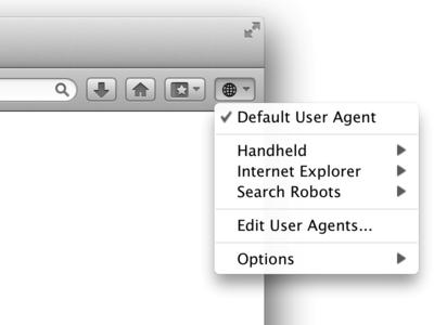 Retina Mac skin in User Agent Switcher for Firefox extension firefox mac retina