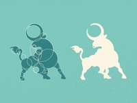 Circular Bull Logo