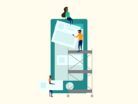 Building UI Illustration