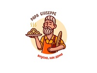 Logo for italian food cafe