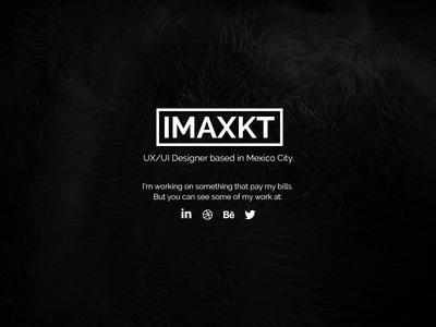 Brand New Website ux ui design mexico website black