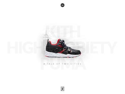 Puma x Highsnobiety x Kith ny city sole release hype puma kicks sneakers