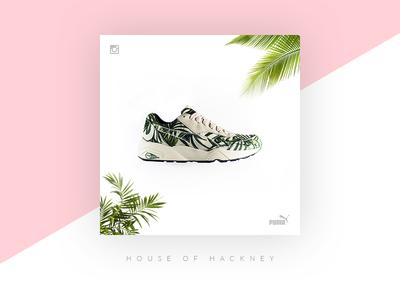 Puma x House of Hackney instagram social sole release hype puma kicks sneakers
