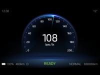 HMI BEV motormeter