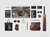 Fashion brand identity - Preppy