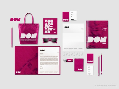 Fashion brand identity - Hip bag brand branding fashion letterhead logo overview swag toronto brand identity business card fashion design graphic design shopping bag flyer
