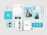Fashion brand identity - Hip