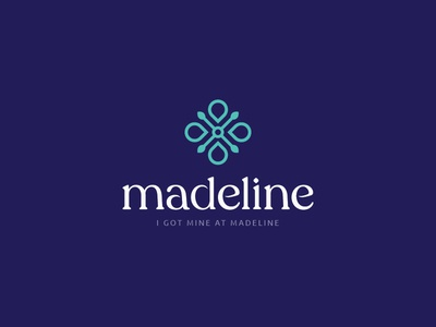 Madeline Final Logo healthcare birth control art direction type treatment type design typography art director branding design identity designer identity design design illustration logo logo design branding