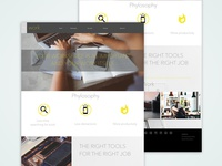 Workspace web design