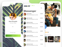 Green Set- login, chat profile