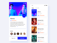 Movie App Interface Design