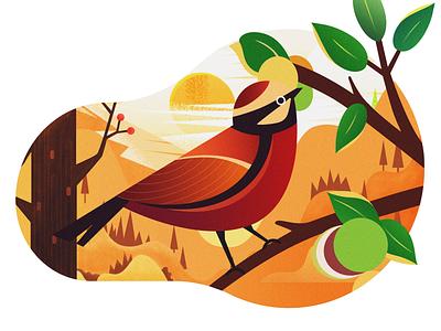Autumn Illustration design illustration ui