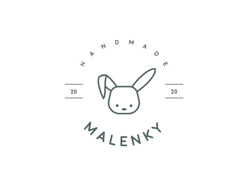Malenky, Handmade design illustrator graphicdesign ai branding animal vector logo design logotype logo