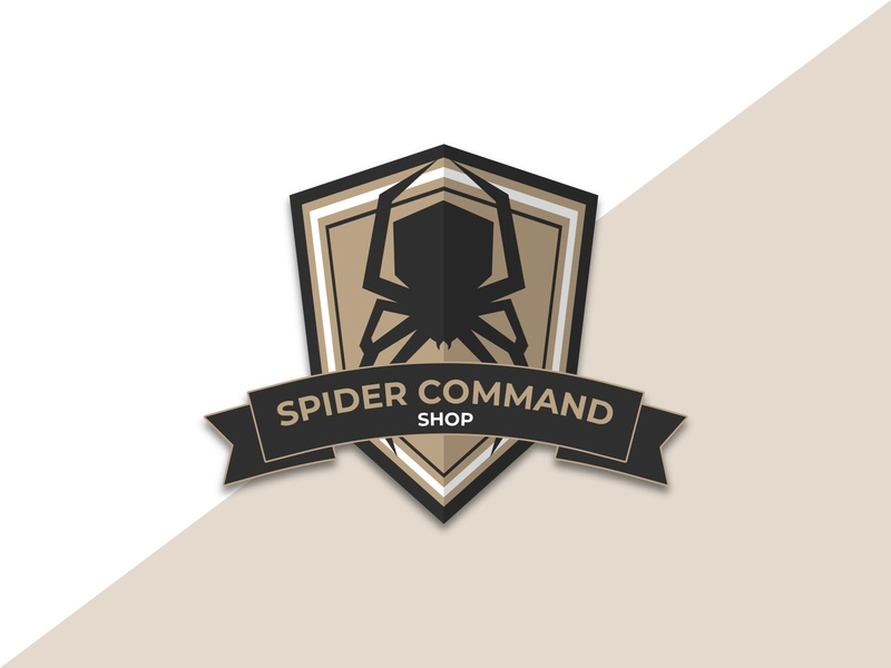 Spider Command Shop vector logo logotype branding graphicdesign design ai
