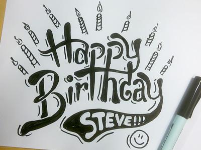 Happy Birthday Steve Wolf By Saylerman Dribbble