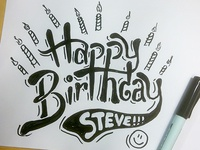 HAPPY BIRTHDAY STEVE WOLF!!!