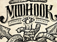 Mudhook Clothing & Co. - Roped Anchor Design