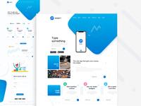 Monefy web & app product website
