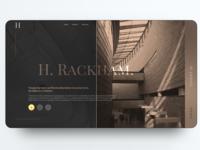H.Rachkam luxury and modern interiors /Dark mode