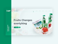 Luga website UI design