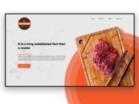 Gundogan SteakHouse website UI design #1