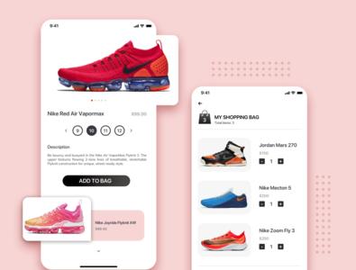 Shoe shopping app