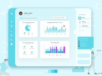 Calance - A fitness dashboard connected to your fitness device