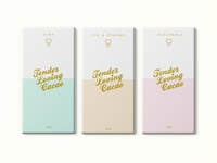Tender Loving Cacao Chocolate Bar Packaging