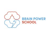 Brain Power school Logo concept