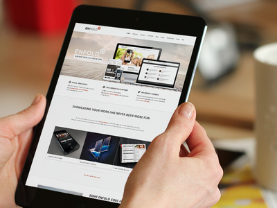 Enfold wordpress theme website ipad retina