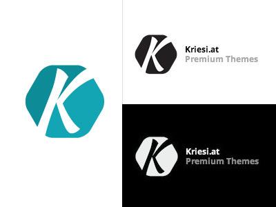 Kriesi.at Logo kriesi.at logo illustrator design brand themes