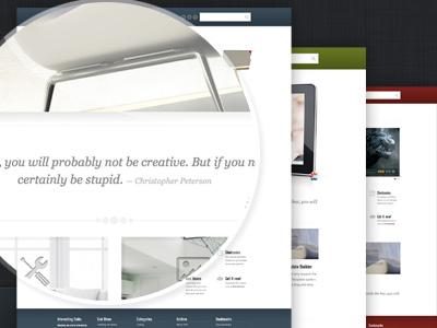 BrightBox wordpress theme website design themeforest