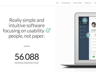 Enfold Demo web wordpress theme design app saas demo macbook