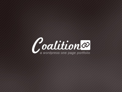 Coalition Dribbble wordpress theme themeforest logo