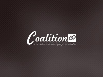 Coalition Dribbble wordpress theme themeforest logo
