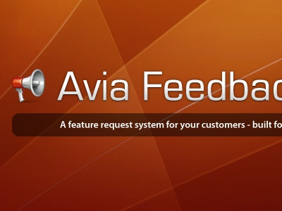 Avia Feedback Box design website wordpress plugin logo banner head