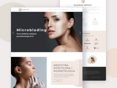 Gersimi - Beauty Clinic Website