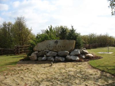 The Grove Park - Neighborhood Entrance Signage