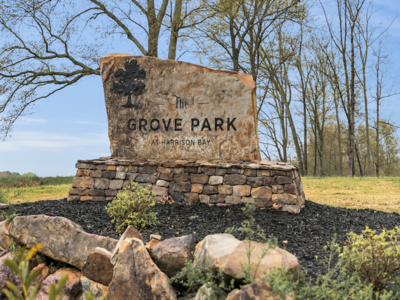 The Grove Park - Neighborhood Entrance Sign