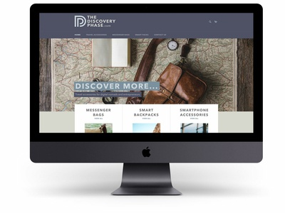 The Discovery Phase Homepage