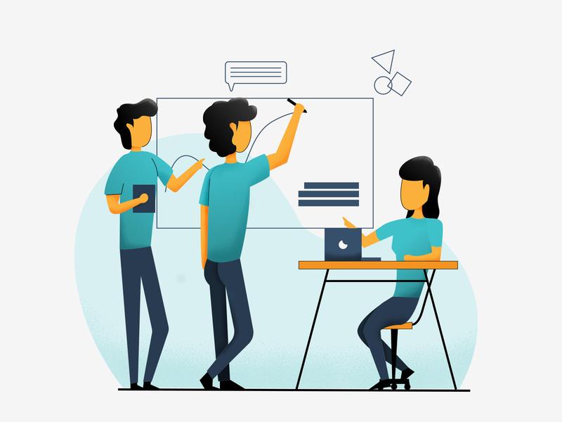 team work team work teamwork teams team branding minimal flat vector illustration design