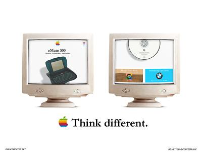 Apple 1997 Website Redesign computers adobe photoshop adobe illustrator quicktime 1997 vintage graphic design responsive websites site website ui 00s 90s retro mac apple