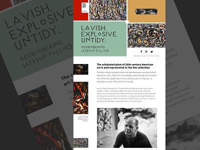 Blog Post typography color graphic design digital design daily ui ui design