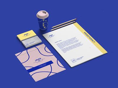 Ateliê 52 -Visual Identity card design paper brand identity branding design identity design idenity visual identity graphic design vector illustration brand branding design