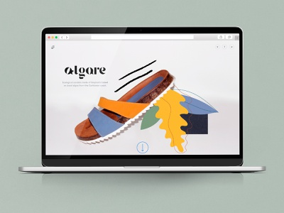 Algare ifdesignaward productdesign sandals shoes identity branding identity ecofriendly product design logo identity design branding brand graphic design illustration design
